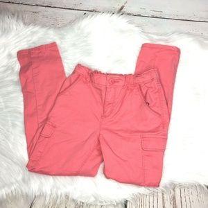 🌸4 for $25 Osh Kosh girls cargo pants size 7